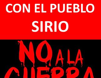 ¡ANTE LA GUERRA DE RAPIÑA IMPERIALISTA, LA PAZ ES UNA CONSIGNA REVOLUCIONARIA!