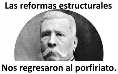 Las reformas estructurales nos regresaron al porfiriato.