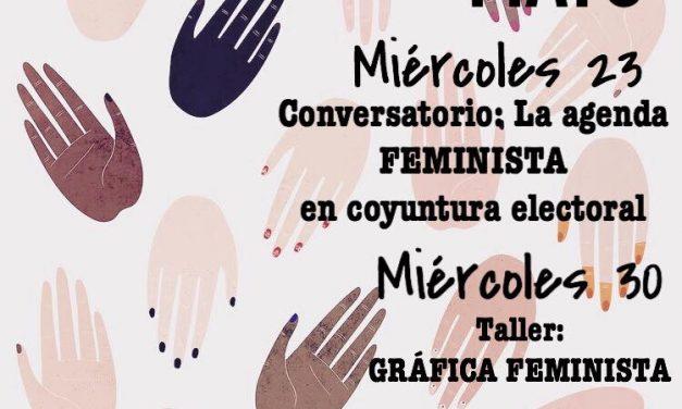 Cartelera del Café Feminista Mayo