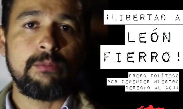 Libertad inmediata para León Fierro.