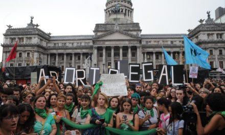 COMUNICADO DE SOLIDARIDAD CON NUESTRAS HERMANAS ARGENTINAS