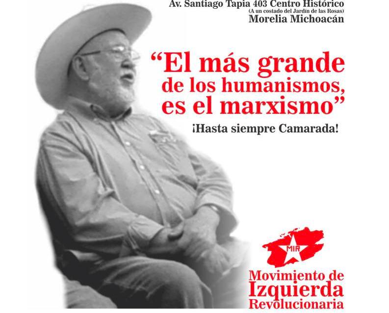 RESEÑA BIOGRÁFICA DEL CAMARADA FABRICIO GÓMEZ SOUSA