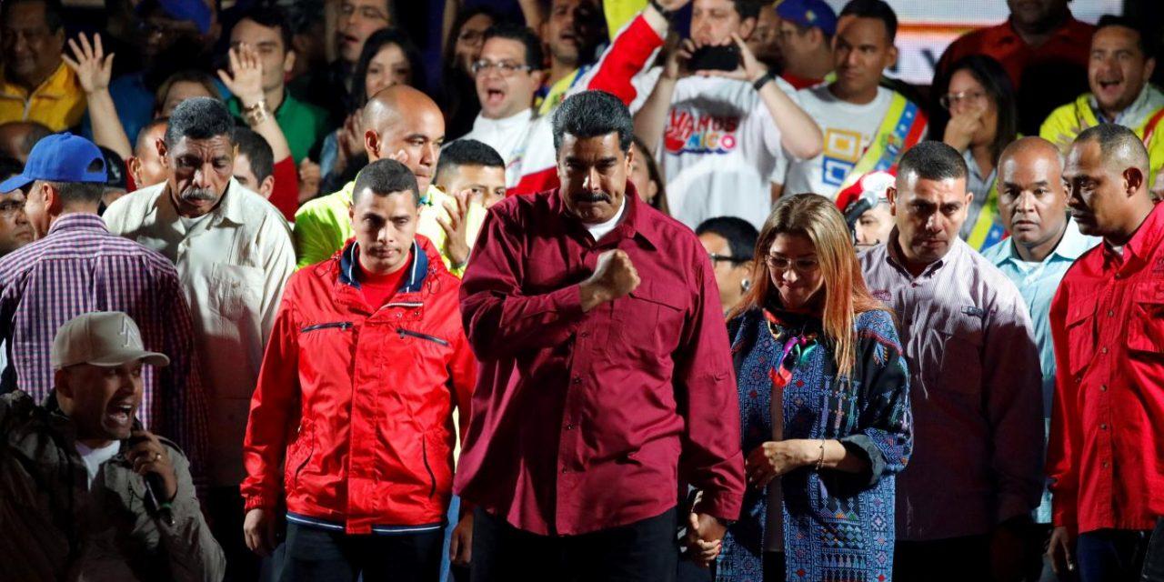 ¡POR EL DERECHO DEL PUEBLO VENEZOLANO A LA LIBRE AUTODETERMINACIÓN, CONDENAMOS EL INTERVENCIONISMO IMPERIALISTA!