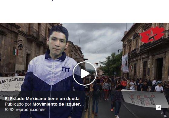 El Estado Mexicano tiene un deuda histórica con el normalismo
