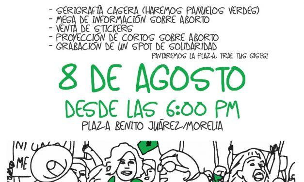 ¡Aborto, legal, seguro y gratuito! Actividades en solidaridad con las compas argentinas