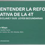 PARA ENTERDER LA REFORMA EDUCATIVA DE LA 4T:  Conceptos Clave y Leyes Secundarias.