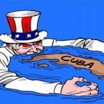 Alto al bloqueo económico y a las acciones para derrocar al régimen socialista cubano