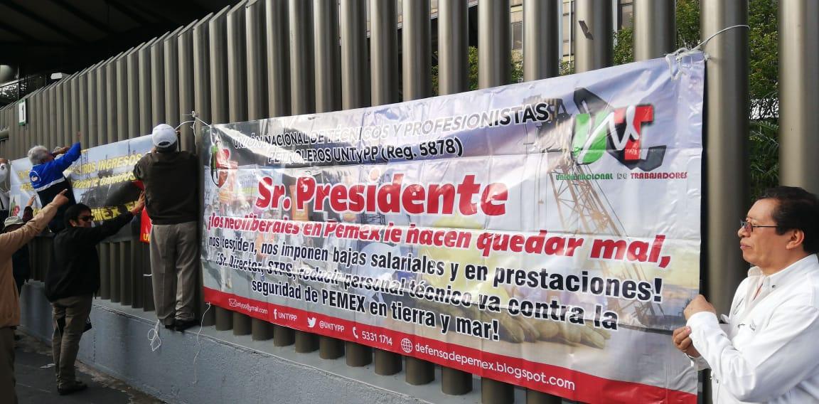 .@Pemex incumple incremento salarial a sectores del personal en activo y jubilado
