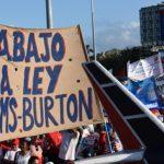 ¡Abajo el BLOQUEO¡ No a Ley Helms-Burton