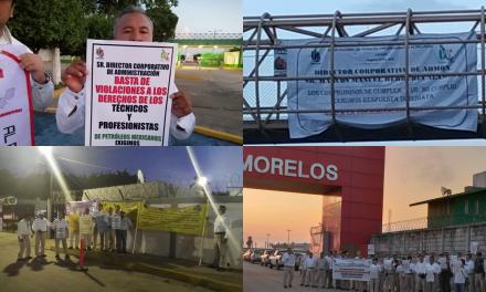 Únete hoy a la rebelión laboral: por la defensa de prestaciones y derechos laborales.