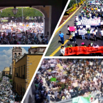 Alto a la inseguridad en #Guanajuato. ¡Viva la marcha de Celaya!