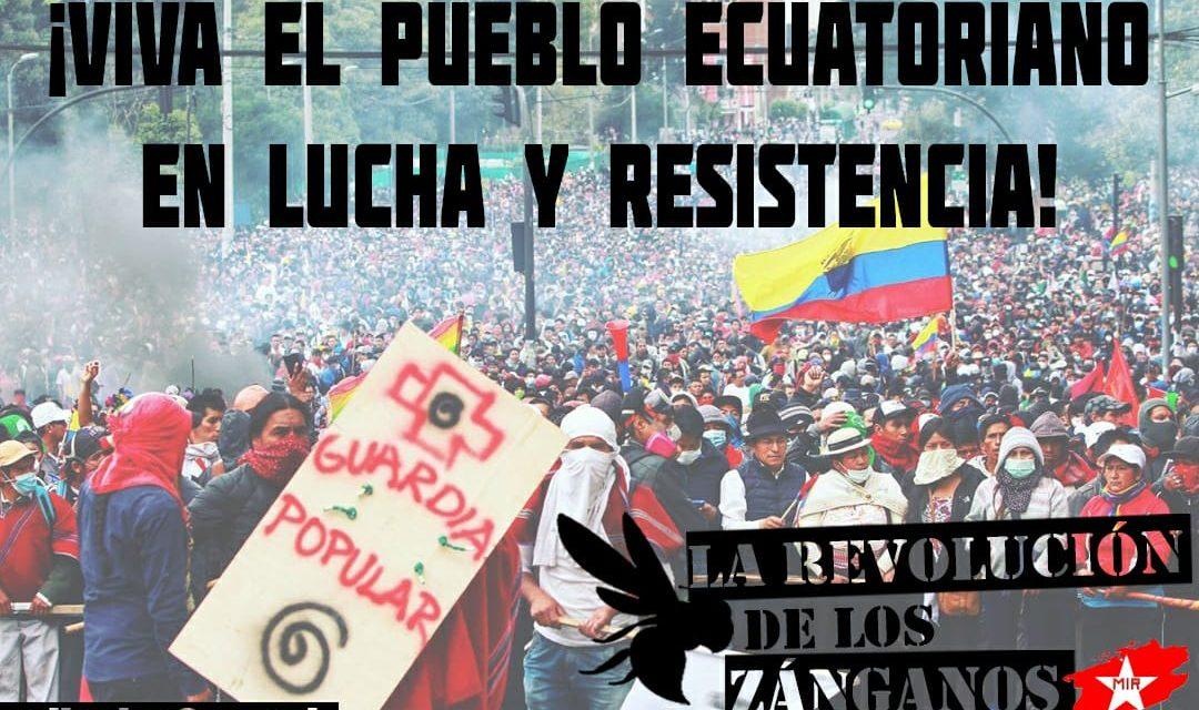 Ecuador y la Insurrección Popular