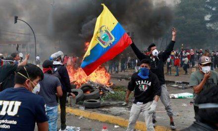 Posicionamiento ante la represión en Ecuador