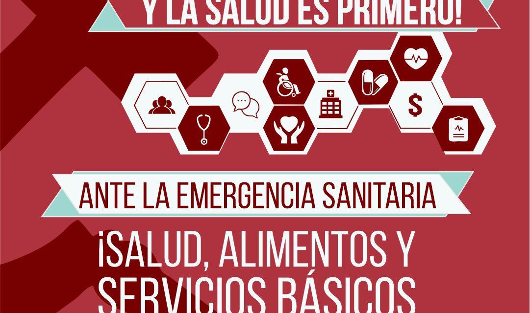 COMUNICADO RESPECTO DE LA EMERGENCIA SANITARIA CAUSADA POR EL CORONAVIRUS