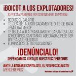 Boicot a los explotadores