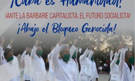 Bienvenida Brigada Médica ¡Cuba es Humanidad!