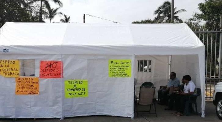 Alto a las agresiones de la FGR contra trabajadoras y trabajadores despedidos por Pemex