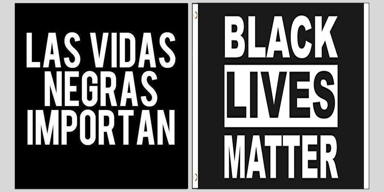 ¡Las vidas negras importan!