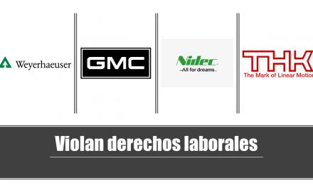 Empresas en Guanajuato violan derechos laborales y de salud.