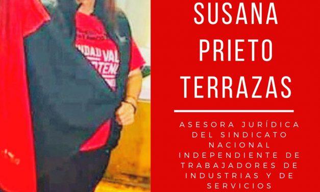 Libertad para Susana Prieto Terrazas.