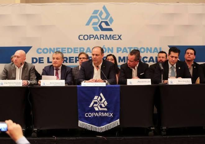 COPARMEX: extorsión y explotación disfrazada de solidaridad