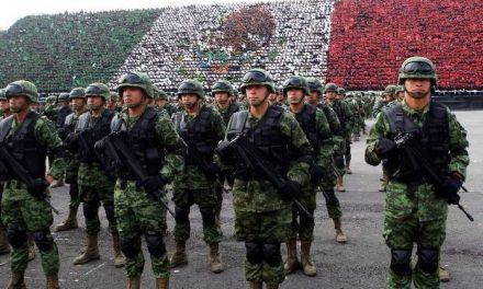 El proceso de militarización del estado mexicano